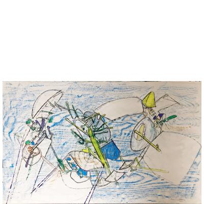 roberto-matta-coleccion-de-4-dibujos-originales-crayon-y-gouache-1